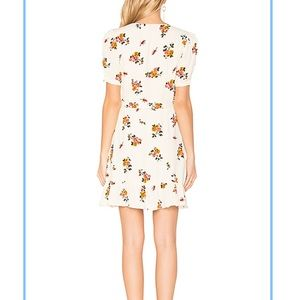 Privacy Please Dresses - Privacy Please June floral dress in Cream XS